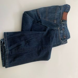 Luck Brand jeans. Like new dark jeans
